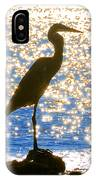 Sparkling Egret IPhone Case