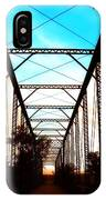 Sparksville Bridge IPhone Case