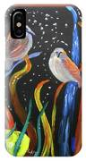 Sparrows Inspired By Chihuly IPhone Case