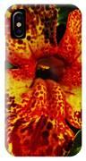 Speckled Petunia IPhone Case