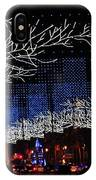 Spectacular Christmas Lighting In Madrid, Spain IPhone X Case