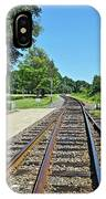 Spencer Railroad Station 2 IPhone Case