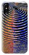 Sphere In Blue IPhone Case