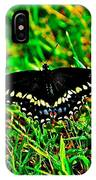 Spicebush Swallow Tail IPhone Case