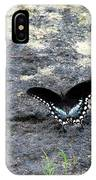 Spicebush Swallowtail 2 IPhone Case