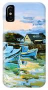 Spiddal Harbour IPhone Case