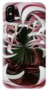 Spider Lily Orb IPhone Case