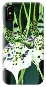Spider Orchid Brassia IPhone Case