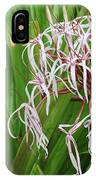 Spider,lily IPhone Case