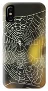 Spider's Creation IPhone Case