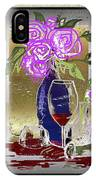 Spilled Wine IPhone Case