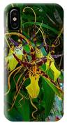Spindly Orchid IPhone Case
