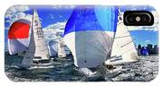 Spinnakers And Sails By Kaye Menner IPhone Case