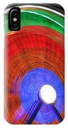 Spinning Wheels IPhone Case