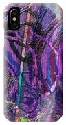 Spiral Detail From Annunciation IPhone Case