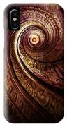 Spiral Staircase In An Old Abby IPhone Case