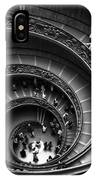 Spiral Stairs Horizontal IPhone X Case