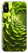 Spiral Succulant IPhone Case