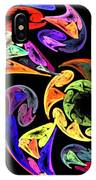 Spiral Toucan IPhone Case