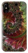 Spiralling Fractal One IPhone Case