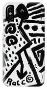 Spirit Of Man IPhone Case