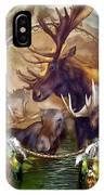 Spirit Of The Moose IPhone Case