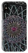 Spirograph 1010 IPhone Case
