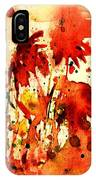 Splash Of Red IPhone Case