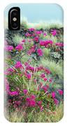 Splashes Of Pink IPhone Case
