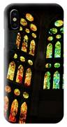 Splendid Stained Glass Windows IPhone Case