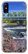 Spokane Falls 2 IPhone Case