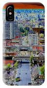 Spokane Washington 2 IPhone Case