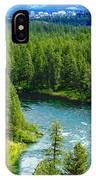 Spokane...the River And The City IPhone Case