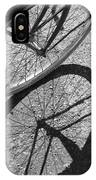 Spoke Shadows IPhone Case