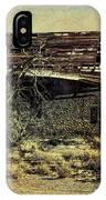 Spooky Broken House IPhone Case
