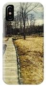 Spooky Hike On The Appalachian Trail IPhone Case