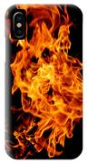 Spooky Hot Spirit Fire Michigan IPhone Case