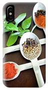 Spoons N Spices IPhone Case