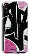 Spraypaint Graffiti IPhone Case