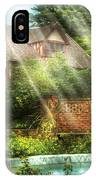 Spring - Garden - The Pool Of Hopes IPhone Case