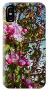 Spring Apple Blossoms- Spring Flowers IPhone Case