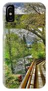 Spring At The Falls IPhone Case