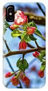 Spring Awakening 3 - Paint IPhone Case