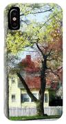 Spring Begins In The Suburbs IPhone Case