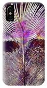 Spring Bird Feather Turkey Feather  IPhone Case
