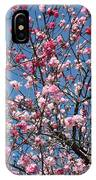 Spring Blossoms Against Blue Sky IPhone Case
