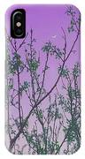 Spring Branches Lavender IPhone Case