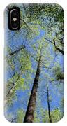 Spring Canopy Skylight IPhone Case