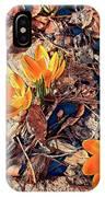 Spring Crocus Flower IPhone Case