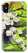 Spring Dogwoods IPhone Case